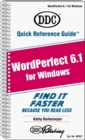 Quick Reference Guide for Wordperfect 6.1 for Windows
