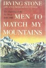 Men to Match My Mountains The Opening of the Far West 1840-1900