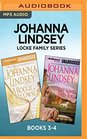 Johanna Lindsey Locke Family Series Books 3-4 A Rogue of My Own  Let Love Find You