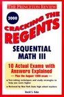 Cracking the Regents Sequential Math III 2000 Edition