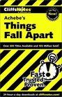 Cliffs Notes Achebe's Things Fall Apart