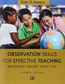 Observation Skills for Effective Teaching Research-Based Practice 7th Edition
