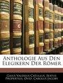Anthologie Aus Den Elegikern Der Rmer