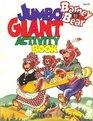 Barney Bear Jumbo Giant Activity Book