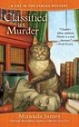 Classified as Murder (Cat in the Stacks, Bk 2)