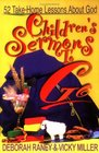 Children's Sermons to Go 52 Take-Home Lessons About God