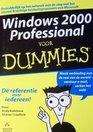 Windows 2000 Professional Voor Dummies