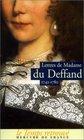 Lettres de Madame du Deffand 1742-1780