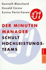 Der Minuten- Manager schult Hochleistungs- Teams