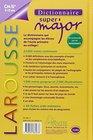Larousse Dictionnaire Super Major 9-12 Ans