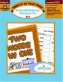 Take It to Your Seat Vocabulary Centers Grades K-1