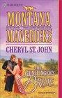 Gunslinger's Bride (Montana Mavericks) (Harlequin Historical, No 577)