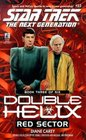 Red Sector (Star Trek The Next Generation: Double Helix, Book 3)