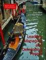Leading Managing and Developing People