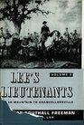 Lee's Lieutenants a Study in Command Cedar Mountain to Chancellorsville