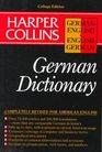 Harper Collins German Dictionary/German-English English-German