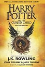Harry Potter and the Cursed Child Parts 1  2 and Harry Potter and the Philosopher's Stone 2 Books Bundle Collection