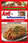 Anti Inflammatory Diet Recipes  85 Inflammation Diet Recipes  Great For Gout Relief