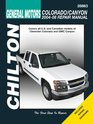 General Motors Chevrolet Colorado/Canyon 2004-2008 Repair Manual