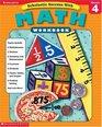 Scholastic Success With Math Workbook Grade 4