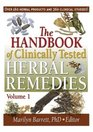 The Handbook of Clinically Tested Herbal Remedies 2 Volume set