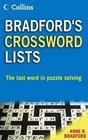 Collins Bradford's Crossword Lists