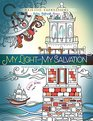 My Light and My Salvation Inspirational Adult Coloring Book