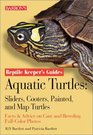 Aquatic Turtles Sliders Cooters Painted and Map Turtles