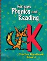 Horizons Phonics and Reading (Horizons Phonics  Reading (Teacher's Guides Numbered))