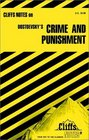 Cliffs Notes Dostoevsky's Crime and Punishment