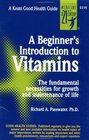 A Beginner's Introduction to Vitamins