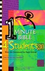 One-Minute Bible 4 Students With 366 Devotions for Daily Living