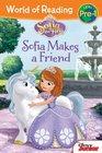 World of Reading Sofia the First Sofia Makes a Friend PreLevel 1