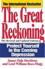 The Great Reckoning  Protecting Yourself in the Coming Depression