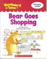 Bear Goes Shopping Shopping Words