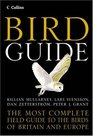 Collins Bird Guide The Most Complete Field Guide to the Birds of Britain and Europe