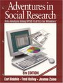 Adventures in Social Research  Data Analysis Using SPSS 110/115 for Windows