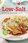 American Heart Association Low-Salt Cookbook 4th Edition A Complete Guide to Reducing Sodium and Fat in Your Diet