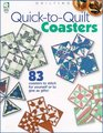 Quick to Quilt Coasters