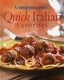 Weight Watchers Quick Italian Favorites