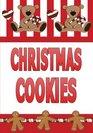 Christmas Cookies Blank Recipe Book Journal-Recipe Keeper