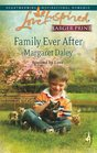 Family Ever After (Fostered by Love, Bk 3) (Love Inspired, No 444) (Larger Print)