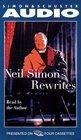Rewrites: A Memoir (Audio Cassette) (Abridged)