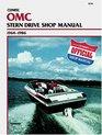 Omc Stern Drive Shop Manual 1964-1986