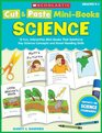 Cut  Paste Mini-Books Science 15 Fun Interactive Mini-Books That Reinforce Key Science Concepts and Boost Reading Skills