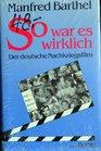 So war es wirklich Der deutsche Nachkriegsfilm