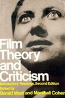 Film Theory  Criticism Introductory Readings Second Edition