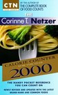 The Corinne T Netzer Calorie Counter for the Year 2000