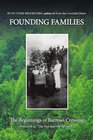 Founding Families: The Beginnings of Barrows Crossing