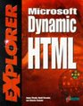 Microsoft Dynamic HTML EXplorer